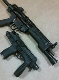 MP5 & MP9ですヨ。