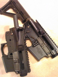 M4 アッパー比較。