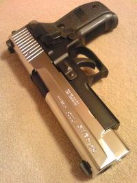 SIG P226R Half Silver