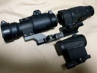 LOVE&PEACE  MK-18 mod1を作る⑥光学機器の巻