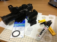 光学機器の保護