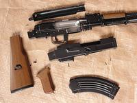 中華製 AK-47 カート式エアーコッキングガン その3