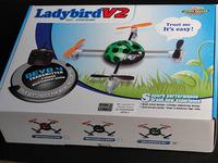 初めてのクアッドコプター Walkera QR Ladybird V2