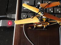 室内用トイラジ MINI ファルコン GOLD 充電ケーブル