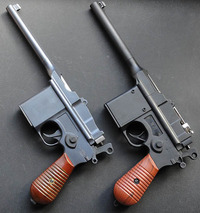 中華エアコキ M308 モーゼルM712タイプ 各種比較