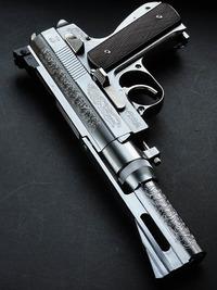 Wildey.45 Winchester Magnum 固定ガスガン