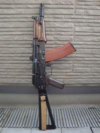 ツーラ製後期型AKS74U用ハンドガード装着完了っ!!