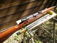個人ガンスミスM様製 フルスクラッチ 三八式騎銃 エアコッキングガン【投稿!私のトイガン】