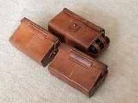 中田商店製 複製 / レプリカ:日本軍 三十年式弾薬盒 前期型 前盒 後盒 油缶