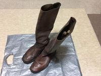 祖父が使用した陸軍官給長靴を修復Part1:洗浄編【祖父が遺したもの】