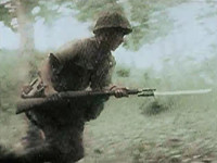 記録映像で見る第二次世界大戦における小銃(ライフル)の持ち方考察