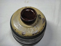 ドイツ軍 実物 M38 ガスマスクキャニス・・・