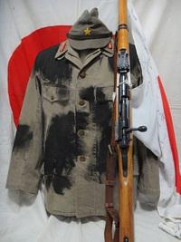 旧日本軍 義烈空挺隊 夏衣迷彩服 発見?