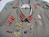旧日本軍 九八式 階級章 襟章 作ってみました! 第一部