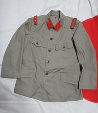 旧日本軍 九八式 夏衣 昭五式記章 仕様 ! 結構好きですね。