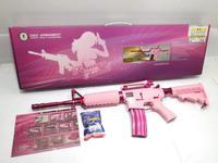 ピンクのポケモンと電動ガン??