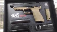 東京マルイ 再生産HK45タクティカルなど 入荷案内