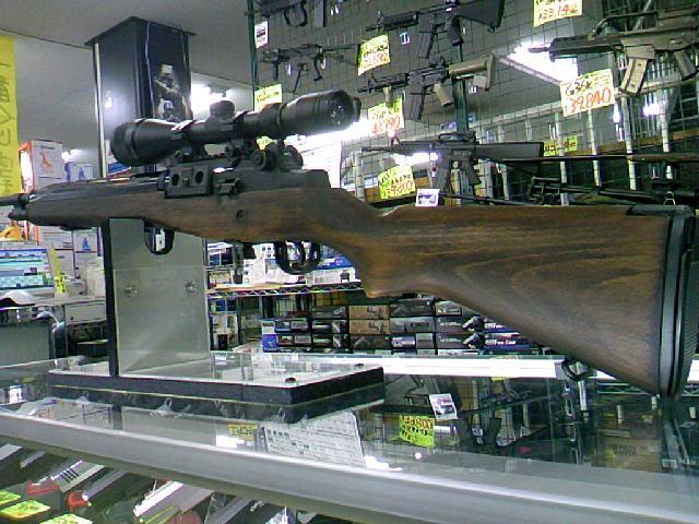 CAW 東京マルイ M14 木製ストック