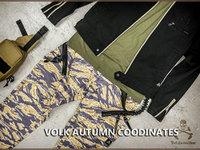 VTG 的 秋のミリタリーファッション提案