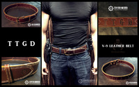 TTGD V-9 LEATHER BELT