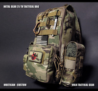 ! METAL GEAR 25TH TACTICAL BAG / 追加装備装着例