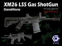 【9月リリース予定】PPS製 XM26 カート式 ガスショットガン