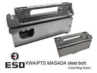 【リコイルUP】ESD製 KWA ガスブロ MASADA用 スチールボルトキャリア