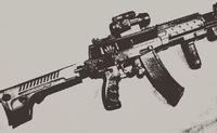 【入荷】NPO製 AK12 電動ガン 画像いじり