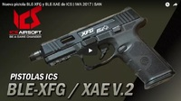 【新製品】ICS BLE-XFG GBB BK TAN