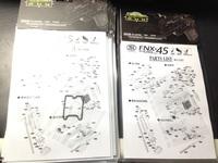【スペアパーツ】サイバーガン製 FNX45 タクティカル