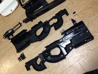 【フレーム分解2】WE製 ガスブロ T.A 2015 黒