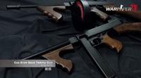 【実射動画】King Arms製 トンプソン M1921 ガスブロ