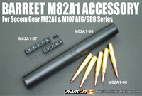 【待ってました!】ガーダー製 バレットM82A1/M107用 サプレッサーとレールマウント