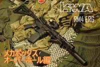 KWA RM4 ERG メカボックスのオーバーホール編