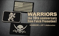 WARRIORS-2892「10周年記念WARRIORSxLBT コラボパッチプレゼントキャンペーン」