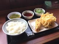 天ぷら定食【丸亀製麺】(´Д`)