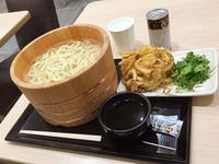 釜揚げうどん得盛り【丸亀製麺】(´Д`)