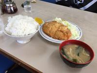 チキンカツ定食【思案橋】(´Д`)