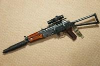 LCT AKS-74Uにもダットサイトを