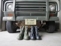 実物 新品 米軍ウエットウェザーオーバーブーツ