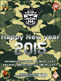 A HAPPY NEW YEAR  2015!!!