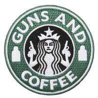 GUNS AND COFFEE ワッペン