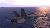 『F/A-18F投入』