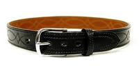 Bianchi B12 Reversible Fancy Stitched Belt,1.5