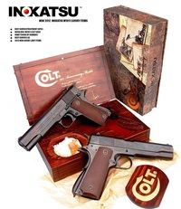 INOKATSU、限定100挺の贅沢な1911をエアガン化