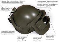 【SPA製レプリカ】 ロシア製 K6-3 ヘルメット