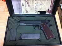 【完売御礼】マルイ M1911A1ミリガバ 中古 新古品