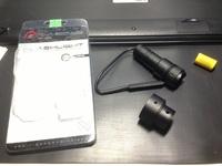 【ジャンク品】AIM製クリスベクター用タクティカルライト
