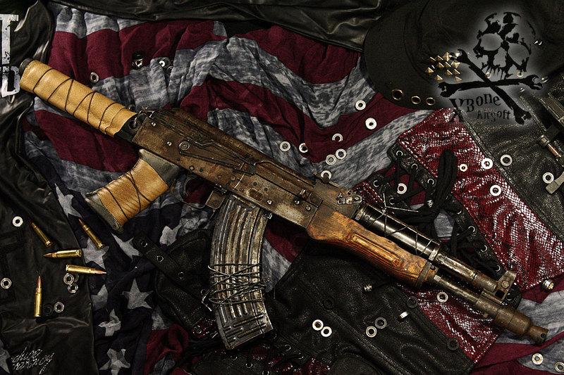 dystopia gun AK