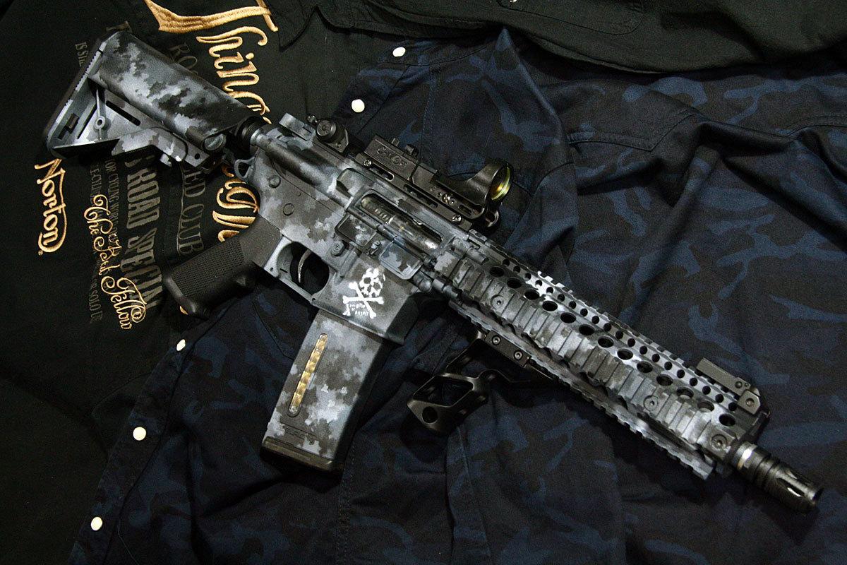 A-TACS 塗装 M4
